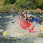 Big splashes on the Full Day Rafting Trip!