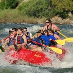 Tucker Gosda having on fun on the Full Day Raft Trip!