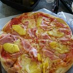 Hawaiian Pizza at Hotel Giada