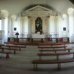 Church inside Fort