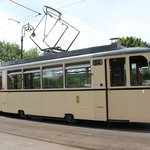 The converted Berlin tram.
