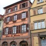Hotel Saint Martin - entrance