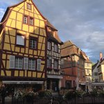 Old town of Colmar - right out side Hotel Saint Martin