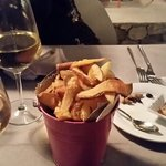 Patatine fritte in buccia