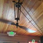 Belt driven ceiling fan
