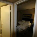 bedroom, bathroom in suite