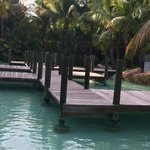 Path by lagoon