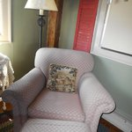 comfy chair in room to read