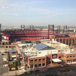 View of Busch Stadium & Midwest Live!