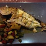Grilled fish Рыба на гриле