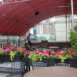 Roof terrace/bar Hotel Metro