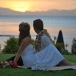 Clifftop wedding