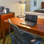 Spacious Work Space with Ergonomic Herman Miller Chair