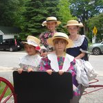 A wagon ride back to Green gables