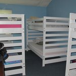 Six bed dorm room