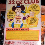 Santa Fe Cattle Company 32 oz club info