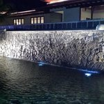 The Waterfall outside reception