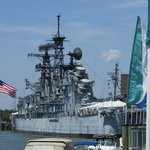 The Sullivans naval Ship is part of the naval museum