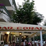 Bar Coral from the back street.