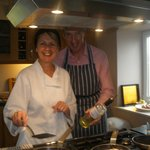 "the wonderful chefs - watch out for the ""oil""!!"