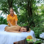 Outdoor Massage in Playa Cativo Lodge