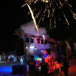 Beach Party and Fireworks