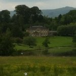 View looking from front of hotel at the Manor House