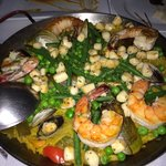 Best paella ever! Better than what I had in Spain.
