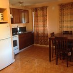 Kitchen and Dining in our One Bedroom King Suite