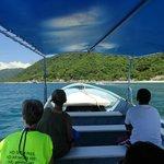 Beautiful Ocean leaving Yelapa