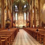 Beautiful and holy St Patrick's in Montreal
