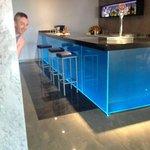The indoor bar