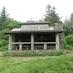Icewater Spring shelter on Appalachian Trail