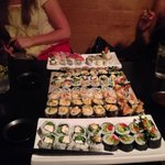 Lots of sushi :)
