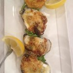 Baked oysters. We had two orders of these.