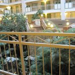 Outside our room overlooking the atrium