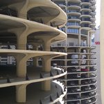 View of Marina City from room