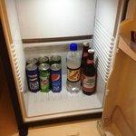 Stocked mini-bar