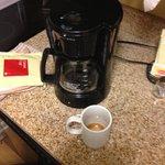 Burned coffee pot still on