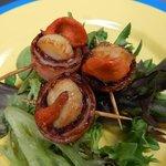 Piggy Back scallops