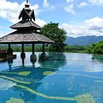 Infinity Edge Pool with view of Mekong River