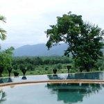 View of Laos and Burma