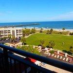 Motel Balcony View - Day