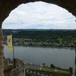 The Rhine through the rampart
