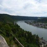 Rhine Below the Castle