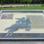 Midnight Ride Plaque near Minute Man Park