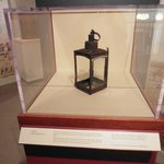 Seen in the Concord Museum: One of the two laterns that was used to send the message to Paul Rev