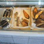 smoked eel and herring