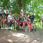 Our Canopy Tour Group
