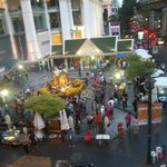 Erawan Shrine from above